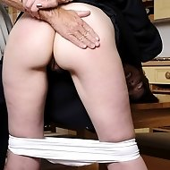 Spanked after blow job