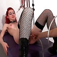 Brutal spankings & enema humiliation for a beautiful redhead